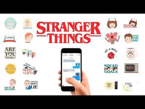 Stranger Things Emoji Keyboard For IOS & Android   Download Emoji