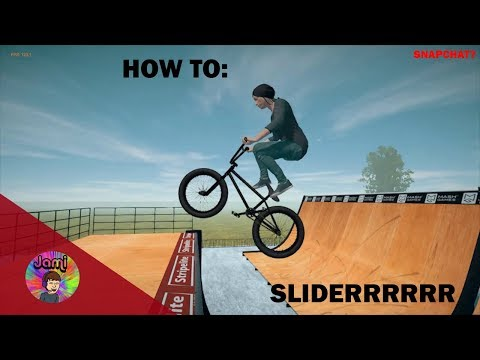 BMX STREETS PIPE HOW TO: SLIDER!