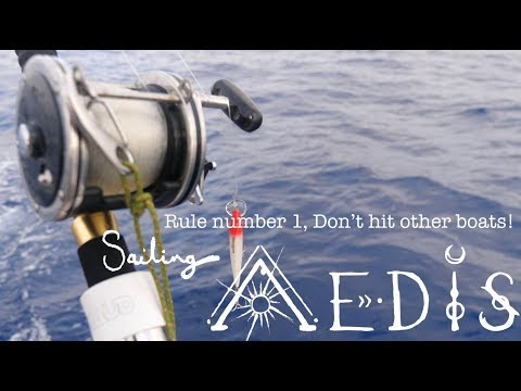 Sailing Aedis   Episode 17: Rule number 1, Don't hit other boats! Waves, burns and a cruise ship