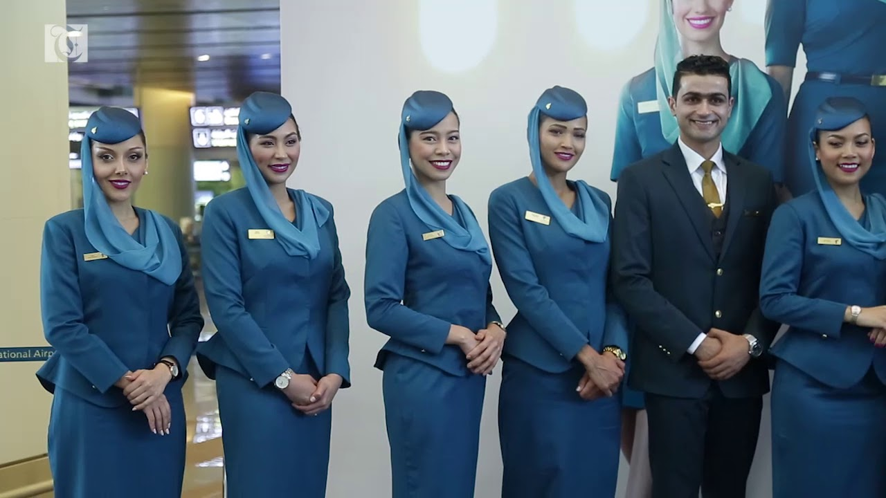 Oman Air unveils new uniforms for cabin crew - Times Of Oman