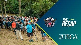 2019 United States Disc Golf Championship Final Round Recap