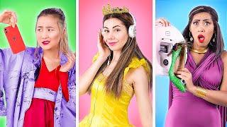 لو الأميرات راحوا للكلية / الأميرات في الحياة الواقعية!