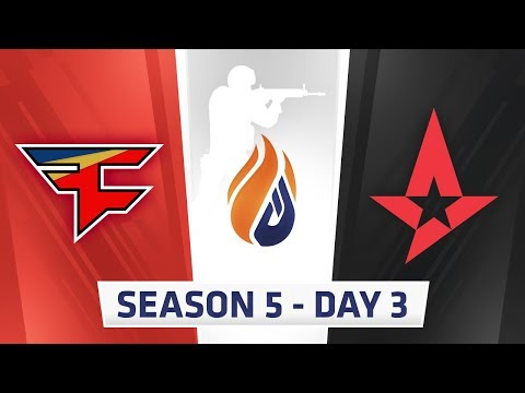 ECS Season 5 Day 3 - Faze vs Astralis
