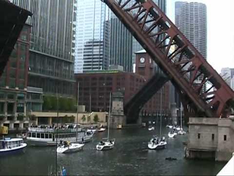 Raising the Bridges on the Chicago River