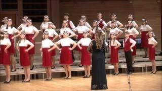 """Старший хор """"Мелодия"""" ДМШ им.С.М.Майкапара - Ugrotanc"""
