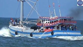 Xem Bầy ghe Khủng của Đại Gia Phú Quốc Ra Khơi /fishing boats of Vietnam