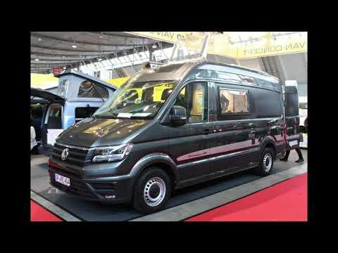 Reimo flips the Volkswagen Crafter camper van into a roomier, more versatile base camp