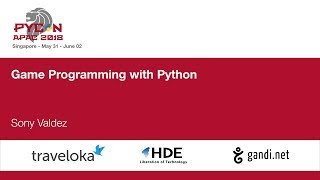 Game Programming with Python - PyCon APAC 2018
