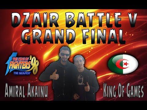 KOF 98 - Dzair Battle V Tournament - Grand Final - FNK\ King of Games vs [Amiral Akainu]