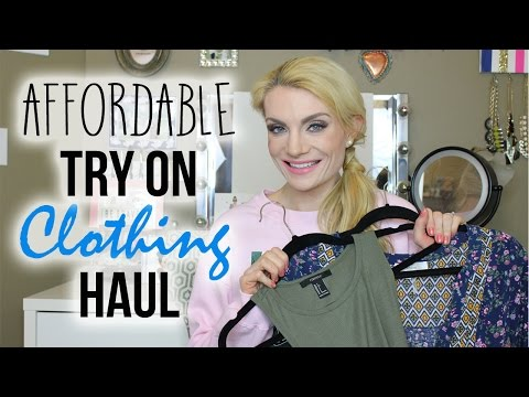 AFFORDABLE TRY ON CLOTHING HAUL   SPRING/SUMMER 2016
