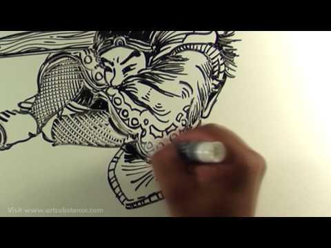 Freestyle Art: DUEL AT GANRYU ISLAND (Samurai II)