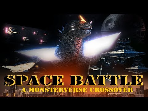 Space Battle : A Monsterverse crossover film (full animation )