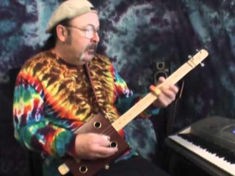 3 string fretless blues slide cigar box guitar youtube. Black Bedroom Furniture Sets. Home Design Ideas
