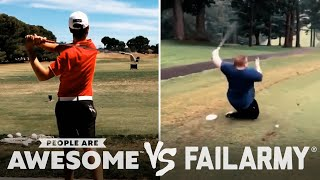 Tearing Up The Golf Course & More Wins Vs. Fails! | PAA Vs. FailArmy
