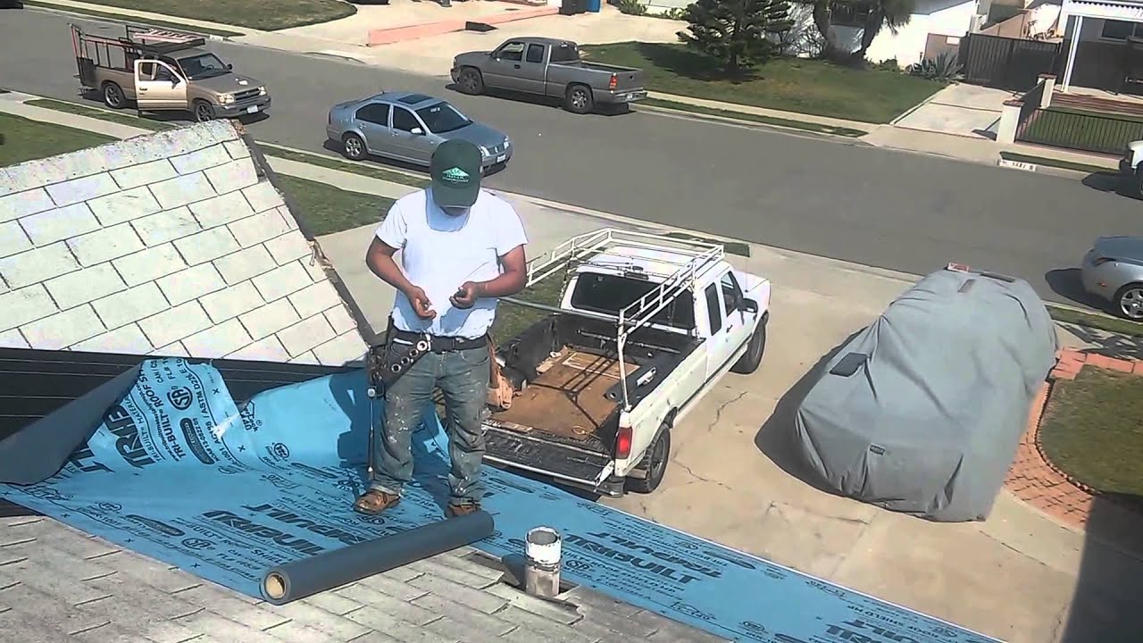 Roofing Video Asphalt Shingles Laying A Second Layer