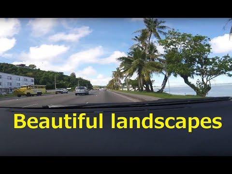Drive in South Guam