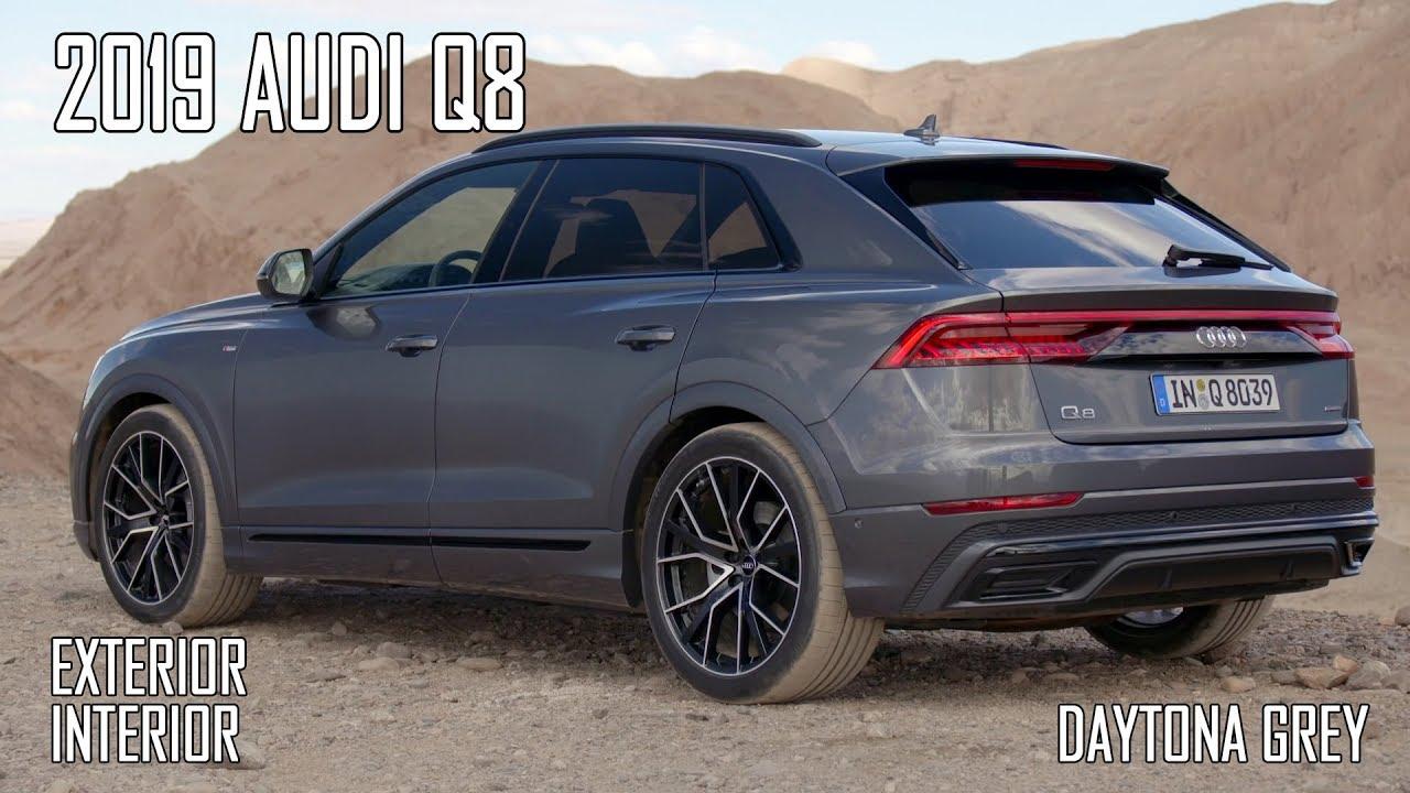 2019 Audi Q8 Exterior Interior Youtube