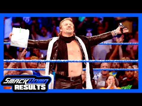 RETURN OF JERICHO, MAN! WWE Smackdown Review & Results (Going in Raw Pro Wrestling Podcast Ep. 263)