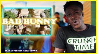 BAD BUNNY REACTION! ( Chambea - Bad Bunny | Video Oficial | 2018 LATIN MUSIC REACTION
