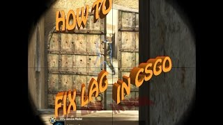 How to fix stuttering / lag / rubberbanding in CSGO (Counterstrike Global Offensive)