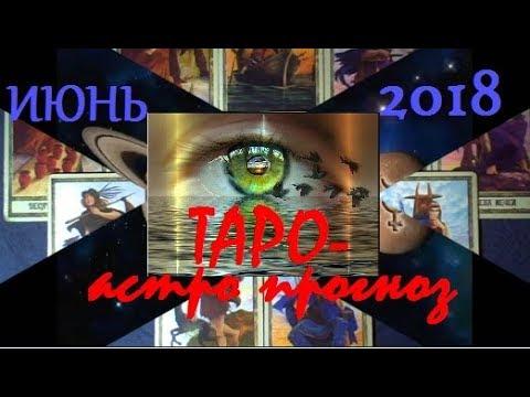 БЛИЗНЕЦЫ. ТАРО-астро прогноз на ИЮНЬ 2018.Ретроградный Нептун.Ретроградный Марс.