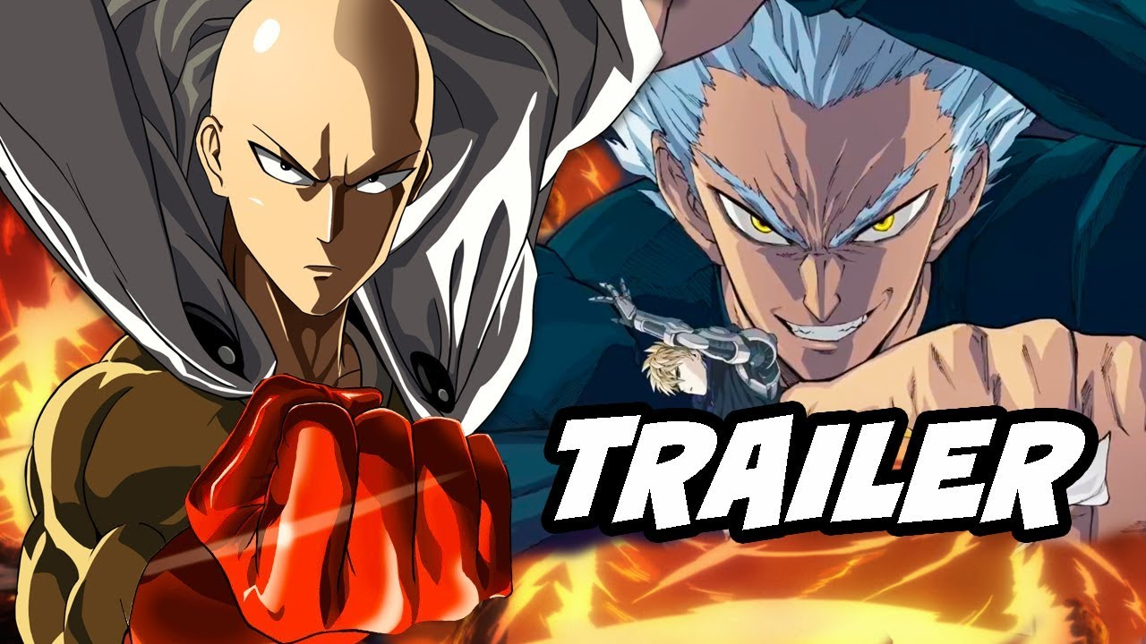 One Punch Man Season 2 Trailer Saitama Vs Garou Ultimate Fight Youtube
