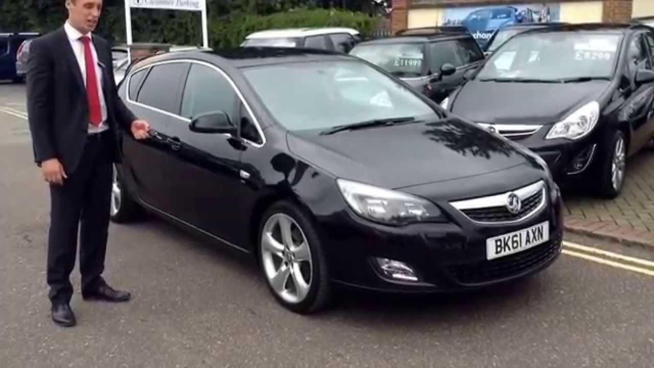 2011 61 Vauxhall Astra 2.0 CDTi with Sat Nav, Bluetooth ...