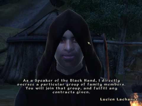 Oblivion Dark Brotherhood A Knife In The Dark Youtube