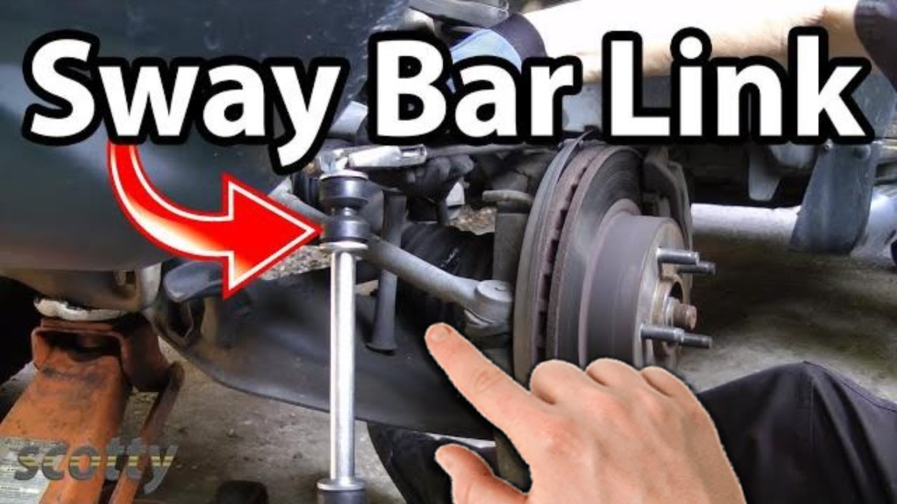 How to Stop Car Clunks (Sway Bar Bushing and Links)  YouTube