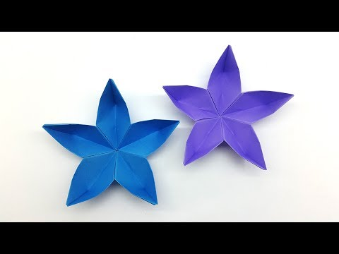 How to make a paper flowers | Origami Flower Easy