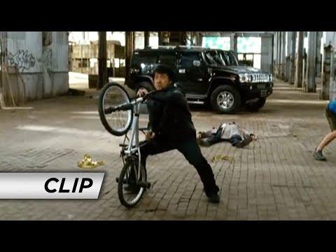 The Spy Next Door 2010  'Bike Fight'
