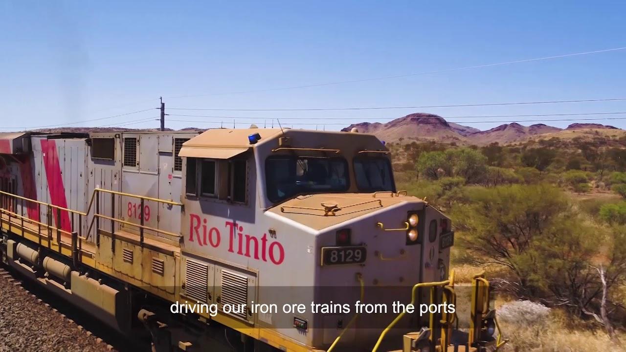 Big data and autonomous trains - all part of Rio Tinto's innovative