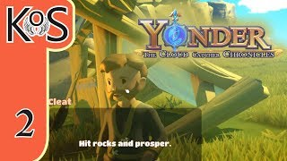 Yonder Ep 2: WILD SPRITE HUNT - Farming, Fishing, Crafting, Relaxing! - Let