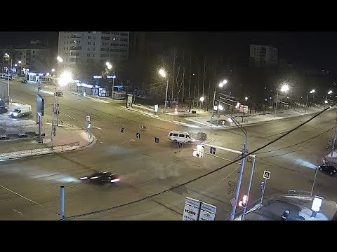 UTV. Подборка ДТП с камер Уфанет с 1 по 8 января 2019 года