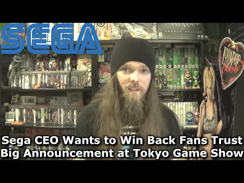 Sega CEO Wants to Win Back Fans Trust - Big Announcement at Tokyo Game Show