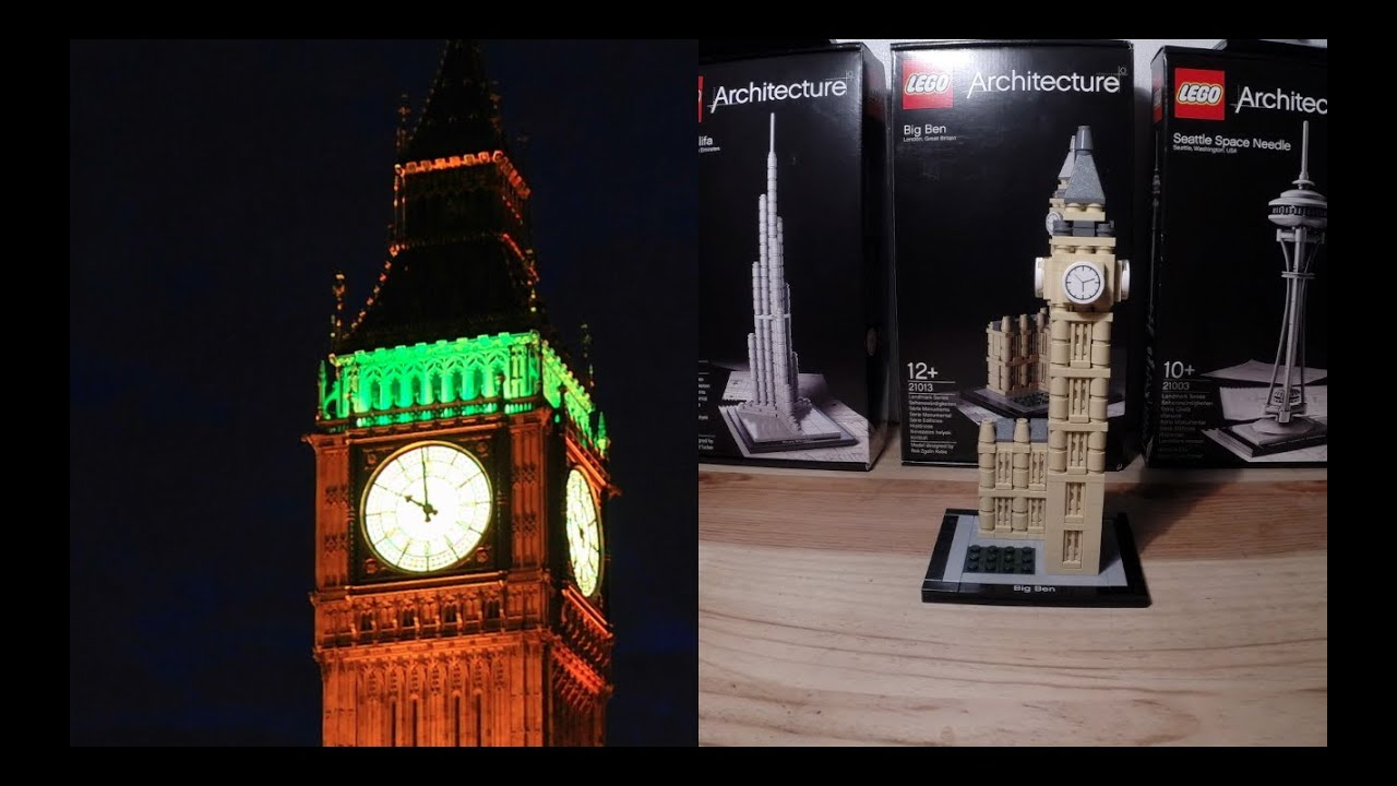Lego Architecture Big Ben | Big Ben Lego Architecture Cool Pictures And Ideas Of How To Build