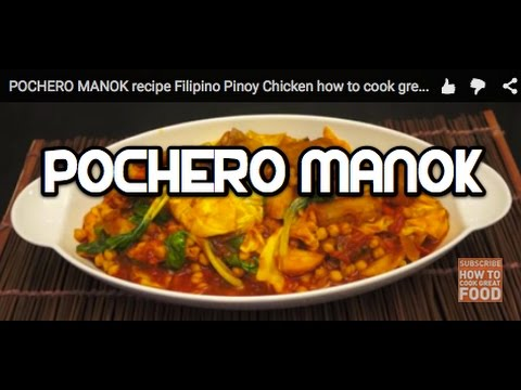 POCHERO MANOK recipe Filipino Pinoy Chicken pocherong