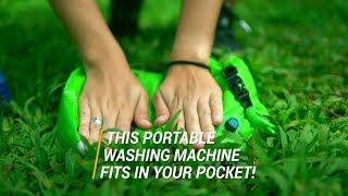 This Portable Washing Machine Fits in Your Pocket