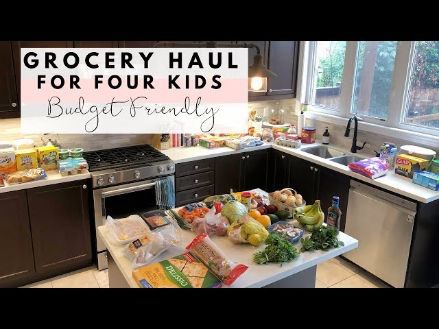BIG Walmart Grocery Haul | Four Kids & Budget Friendly | Meal Planning
