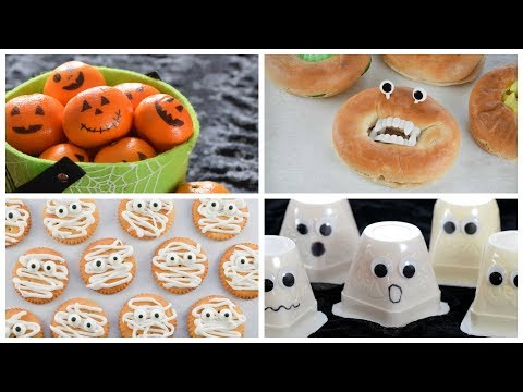 4 Quick And Easy Halloween Food Ideas For Kids!