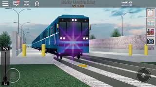 2 subway Canadian trains Roblox!