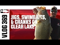 Jared Lintner and Alex Davis Fishing Jigs, Swimbaits, and Crankbaits on Clear Lake - TW VLOG #369