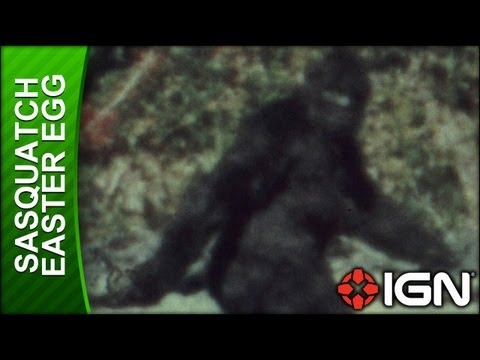 Assassin's Creed 3 - Sasquatch Easter Egg - YouTube
