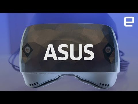 Asus Windows Mixed Reality Headset hands-on at IFA 2017