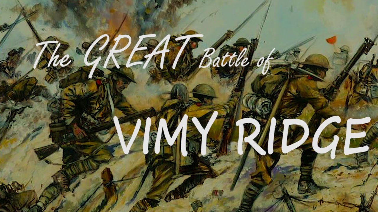 an overview of the 1917 battle of vimy ridge Canadian history for kids sketches of canada - vimy ridge  capturing most of vimy ridge by nightfall april 9th, 1917, easter monday, four canadian military.