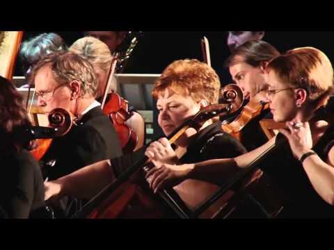 """Увертюра из х/ф """"Дети Капитана Гранта"""", Fiddle-Faddle - оркестр Харьковской Филармонии"""