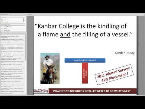Kanbar College of Design Engineering & Commerce Online Q&A