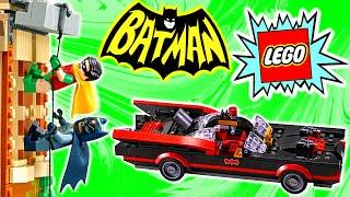 LEGO Batman Batcave 1960s Classic TV Series 76052 Review