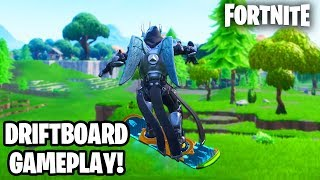 "NOUVEAU GAMEPLAY ""FORTNITE DRIFTBOARD"" ! FORTNITE SNOWBOARD GLITCH (Fortnite Saison 7)"