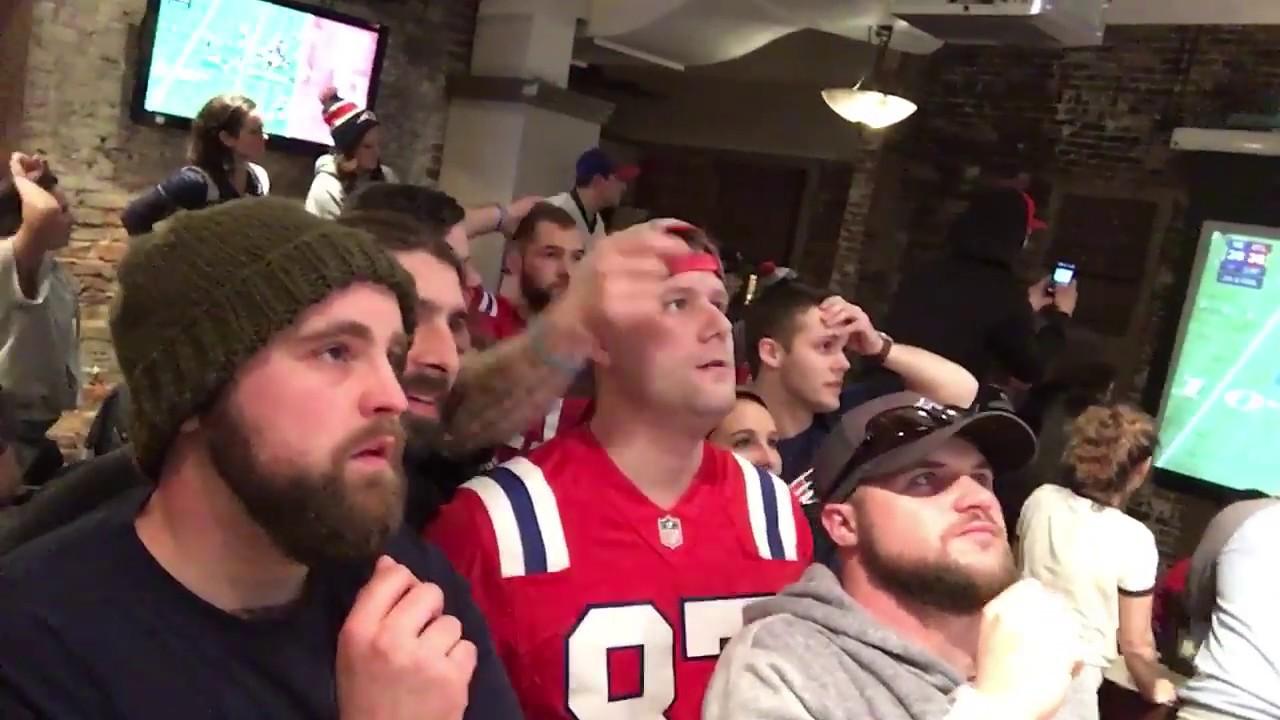 patriots fan reaction to super bowl 51 overtime game. Black Bedroom Furniture Sets. Home Design Ideas